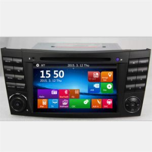 Double DIN Car Audio GPS for Mercedes-Benz E Class W211 pictures & photos