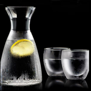 Export Europe Popular Drink Jug Glass Pitcher Wine Glass Carafe Jug pictures & photos
