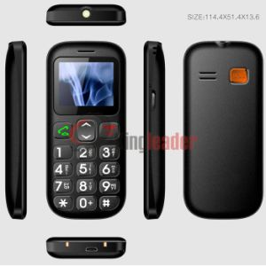 GSM Quad Band Senior Cell Phone with Ce (W103) pictures & photos