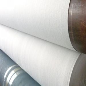 100-1000G/M2 UV Resistant White and Black Nonwoven Geotextile pictures & photos