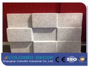 Absorption Acoustic Standard 3D Pet Fiber Panels pictures & photos