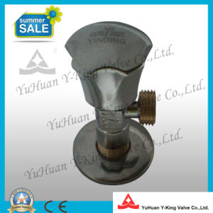 Brass Triangle Angle with Valve Zinc Handle (YD-I5026) pictures & photos