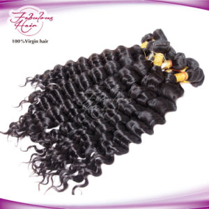 Unprocessed Wholesale Virgin Human Hair for Brazilian Loose Curly Weave Hair pictures & photos