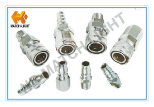 Stainless Steel 304 Pneumatic Quick Connector for Pneumatic Applications pictures & photos