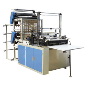 Four Line Double Layer Bottom Sealing Bag Making Machine pictures & photos