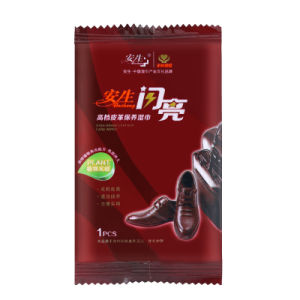 Hot Selling Shoe Polish Cleaning Wet Wipes Single Pack pictures & photos