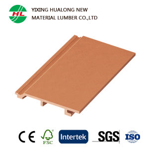 Waterproof WPC 3D Wall Panel with Good Price (HLM15) pictures & photos