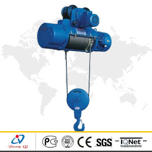 Small Motor Pulleys CD1 Type Wire Rope Electric Hoist