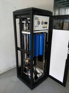 250L/H Industrial RO System with Black Cabinet 4040 RO Membrane pictures & photos