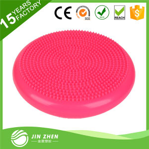 Wholesale China Factory Inflatable Massage Mat Yoga Ball Balancing Cushion