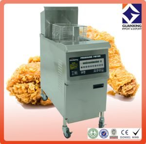 Open Fryer/Stainless Steel Electric or Gas Pressure Fryer/Hot Sale Commercial Pressure Gas Chips Fryer pictures & photos