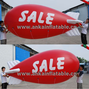 Giant 10m PVC Inflatable Advertising Zeppelin Helium Balloon pictures & photos