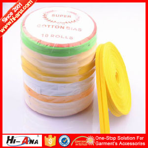 Rapid and Efficient Cooperation Hot Sale Cotton Bias Binding Tape pictures & photos