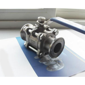 1000wog Three Piece Ready Packaged Stainless Steel Ball Valve pictures & photos