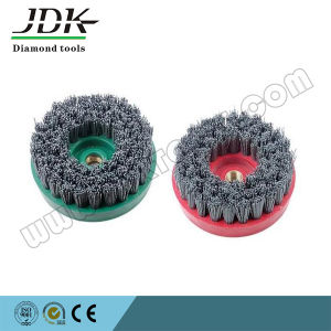 100mm Nylon Round Abrasive Brush/Antique Brush for Stone Processing pictures & photos