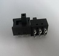 Black Miniature Slide Switch with Many Function pictures & photos