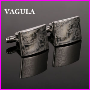VAGULA Wholesale Laser Cufflinks (HL10148) pictures & photos