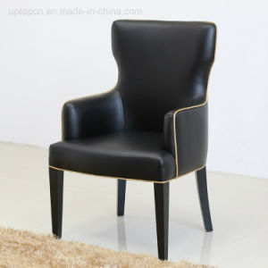 Commercial Luxury Classical Leather Dining Arm Chair for Hotel (SP-HC552) pictures & photos
