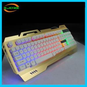 Machinery Touch Sense Metal Wire Drawing E-Sport Gaming Keyboard pictures & photos