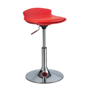 Popular Height Adjustable Chromed PU Bar Stool Without Armrest (FS-787C) pictures & photos