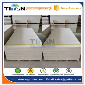 Gray 12mm Thick Cellulose Wood Wool Fiber Cement Board