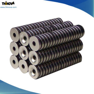 Ring Neodymium Permanent Magnet with SGS/RoHS/Ts16949