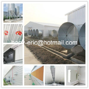 Best Prefab Poultry House Steel Structure Poultry Farm pictures & photos