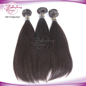 Grade 8A Brazilian Straight Human Hair Extension pictures & photos
