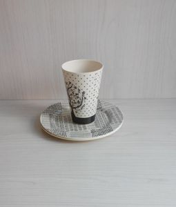 Bamboo Fiber Tableware Combination Series with Eco-Friendly (BC-CS1029) pictures & photos