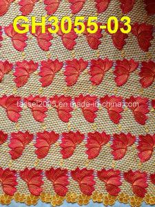 New Design Multi-Color Guipure Lace (GH3055) pictures & photos