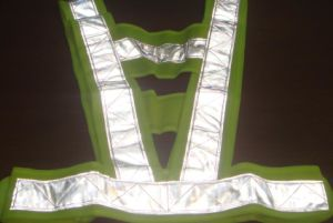 Comfortable Green Polyester High Visibility Safety Vest pictures & photos