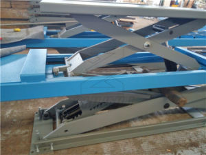 4500kg on Ground Alignment Scissor Lift pictures & photos