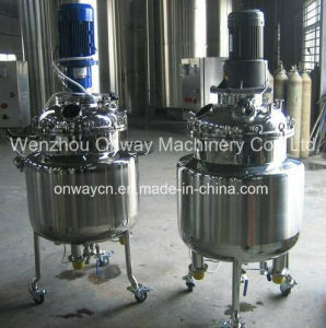 Pl Stainless Steel Jacket Emulsification Mixing Tank pictures & photos