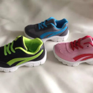 Latest Africa Cheap Children Kids Sport Shoes Sneaker (FF71588) pictures & photos