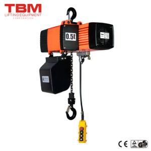 Tbm Hoist, Aluminum Alloy Electric Chain Hoist, 0.5 Ton Electric Chain Hoist pictures & photos