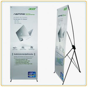 X Frame Banner Stand (80*200cm) pictures & photos