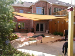 Colorful High Quality HDPE Shade Sail for Garden Leisure (Manufacturer)