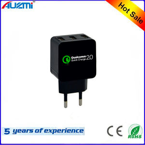 QC 2.0 3USB Quickly Charger with EU/USA Plug