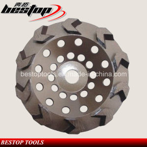 High Quality Diamond Grinding Wheel with Arrow Diamond Segments pictures & photos