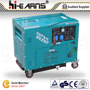 CE Certification Super Silent Diesel Generator (DG6500SE-N) pictures & photos