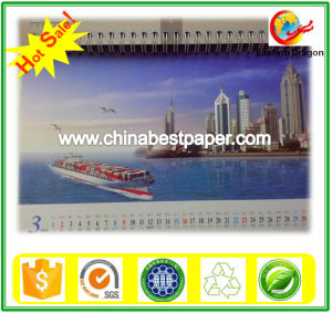 250g Uncoated White Calendar Paper pictures & photos