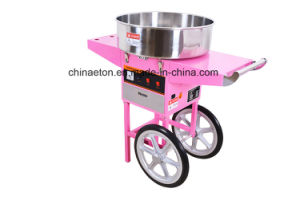 Comercial Ce&ETL Verified Candy Floss Machine, Candy Floss Machine with Cart and Cover (ET-MF05(520) pictures & photos