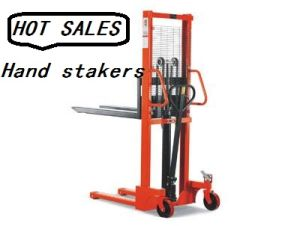 Hand Pallet Stacker pictures & photos