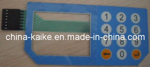 Plastic Dome Membrane Switch Keypad pictures & photos