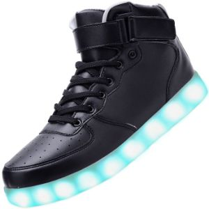 Good Quality Fashion Adults LED Light Shoes Casual for Male pictures & photos