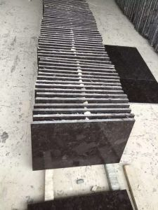 Angola Marron Cohiba Antique Brown Granite Slabs for Floor Staircase