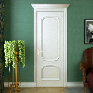 Oppein Classic White Solid Wood Door for Room (MSGD07) pictures & photos