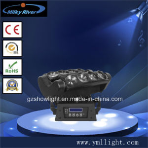 Professional Bar Lighting Spider RGBW 4in1 Moving Head 8*10W LED Stage Light LED-Spider810 (RGBW) pictures & photos