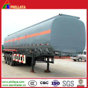 Fuel Tank Semi Trailer Oil Transport Metal Tanker pictures & photos