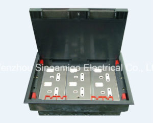 Access Floor Socket Three Compartment Under Floor Box pictures & photos